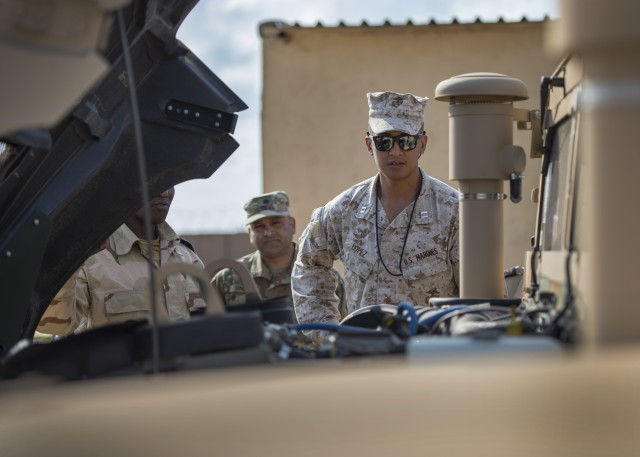 United States delivers HMMWVs to armed forces of Djibouti