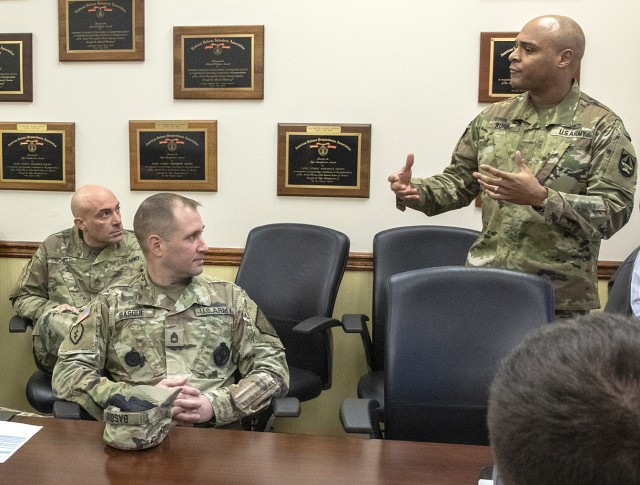 NJ Army National Guard visit to Picatinny part of ongoing community relations