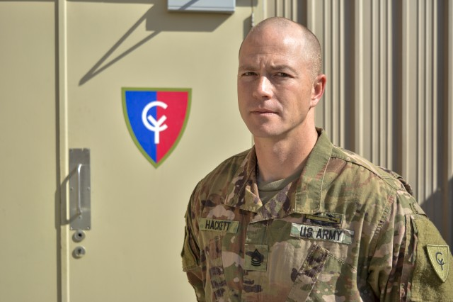Fort Wayne native serves in the Middle East supporting Task Force Spartan