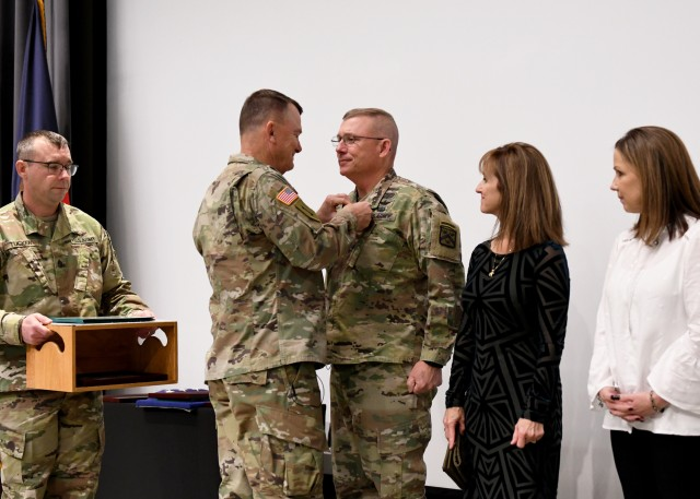 Lundy retires at Fort Leavenworth