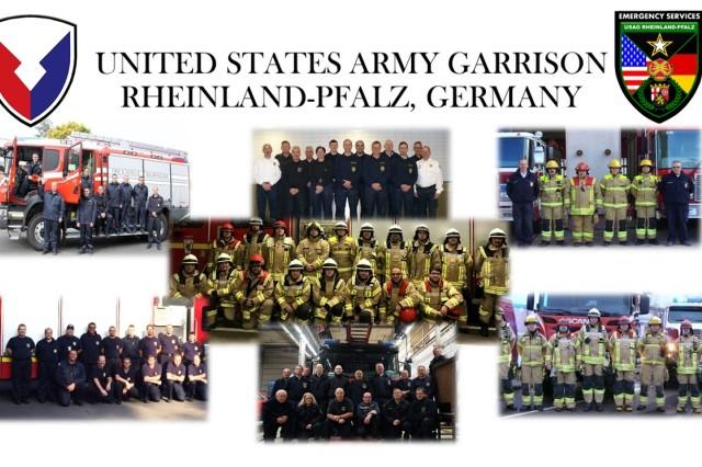 IMCOM-Europe Fire Department of the Year, Large Category: USAG Rheinland-Pfalz