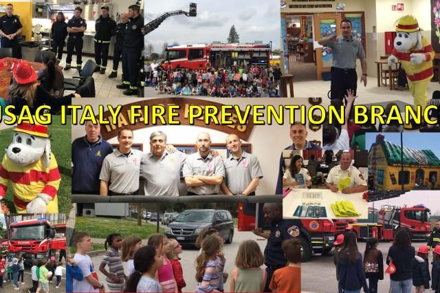 IMCOM-Europe Fire Prevention Program of the Year: USAG Italy