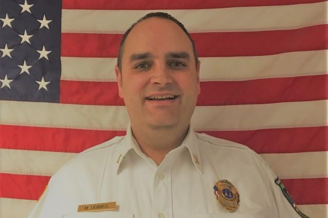 IMCOM-Europe Fire Service Inspector of the Year: Mario Hoinigg, USAG Rheinland-Pfalz