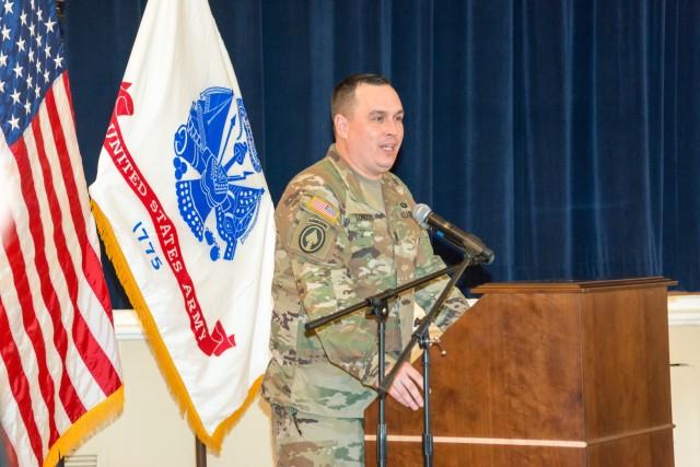 Presidio of Monterey welcomes new senior enlisted leader