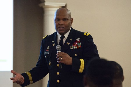Growing up in the South, Lt. Gen. Leslie Smith said he felt the impact of the civil rights movement inspired by the late Martin Luther King Jr.