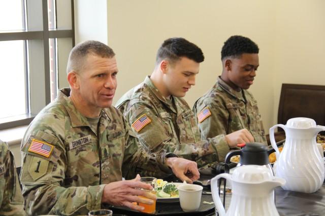 SMA visits Battalion Commander Assessment Program