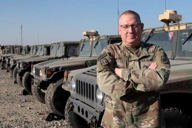 38th ID soldier named top warrant officer for Indiana National Guard