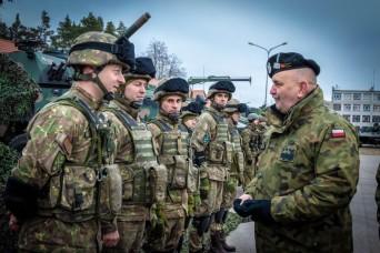 3rd Squadron, 2d Cavalry Regiment Assumes NATO Misison in Poland