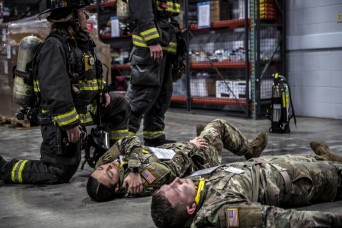 Indiana Guard trains with emergency responders