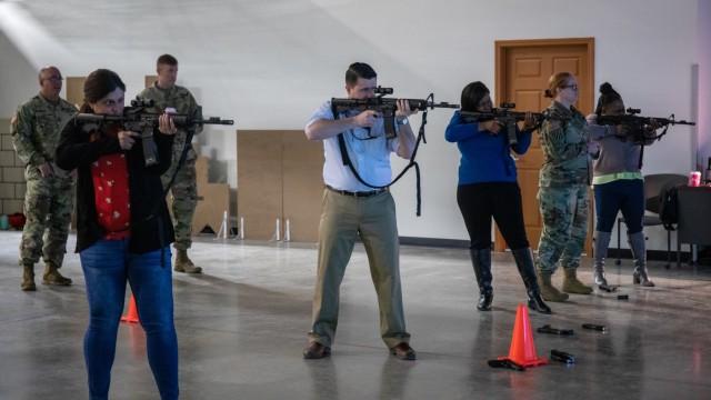 1st TSC civilians build esprit de corps with SAM-T