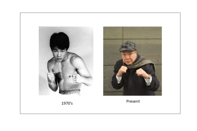 Hong Soo Hwan, a South Korean, and the two-time World Boxing Association (WBA) bantamweight title holder, started his professional boxing career after he won his first fight, with an American Soldier.