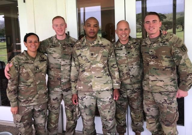 Jungle Operations Training Course training at Tripler AMC