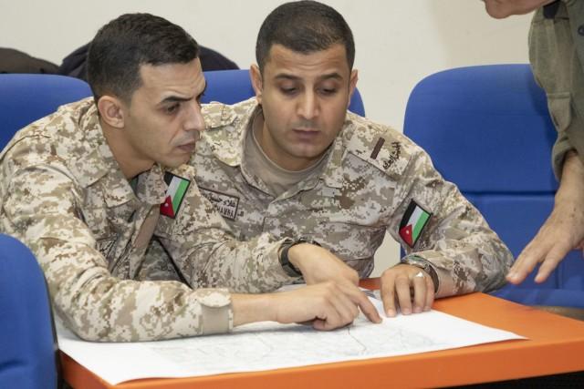 Coalition partners navigate map fundamentals