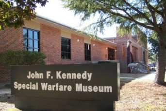 U.S. Army JFK Special Warfare Museum becomes Army Special Operations Forces Museum