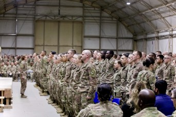 30th ABCT Soldiers attend Basic Leaders Course in Middle East