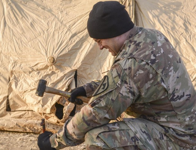 Blackjack Brigade prepares for Combined Resolve XIII; tactical operations center assembly