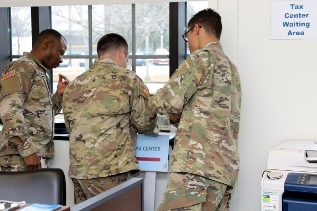 Fort Benning offers free tax help, from Feb. 3