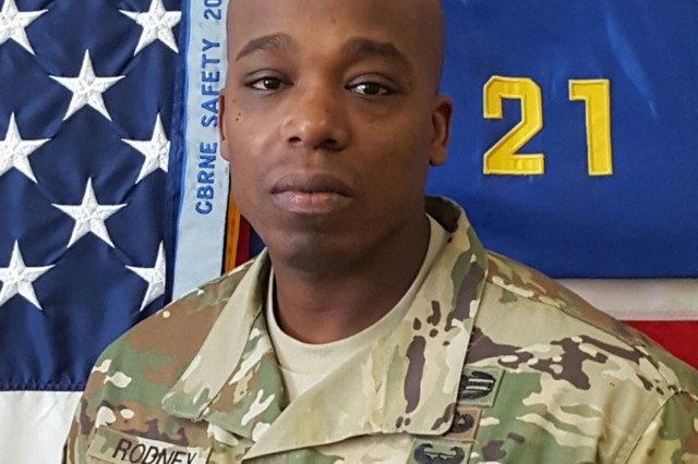 Master Sgt. Jason Rodney. (Photo credit courtesy of Master Sgt. Jason Rodney)
