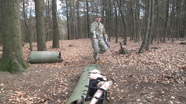 LRMC nurse prepares for battlefield operations