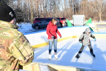 Fort Drum FMWR opens new ice rink for recreational skating