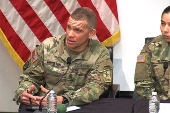 SMA to Soldiers: 'Understand the people around you'