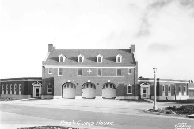 The original Fire Station No. 1 was constructed in January 1935. Today's station looks virtually the same with a few minor changes.