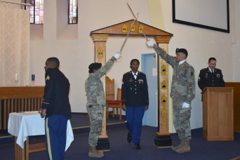 Public Health Command Europe hosts joint NCO induction ceremony