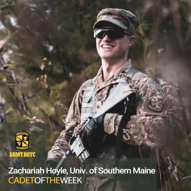 Cadet Zachariah Hoyle