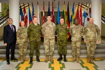 Teaching at the front edge of NATO