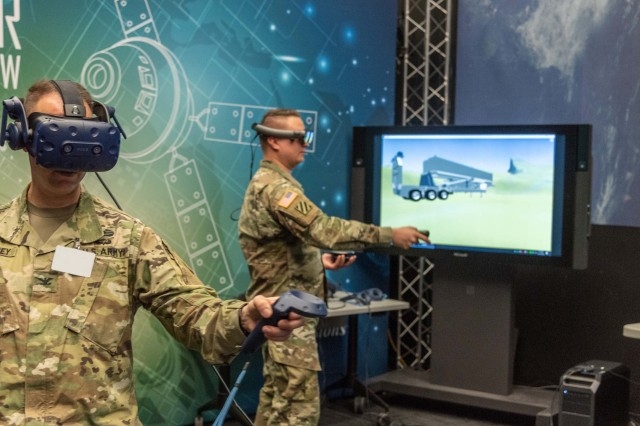 Using virtual reality, Soldiers are getting a rare look at components of the Army's new prototype Long Range Hypersonic Weapon (LRHW) and influencing how the system is designed.