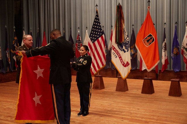 Maj. Gen. John Phillips promotion ceremony