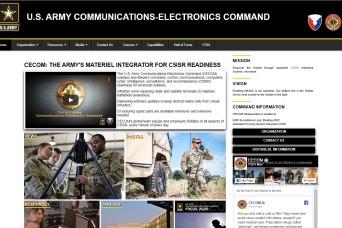 Visit the new CECOM website