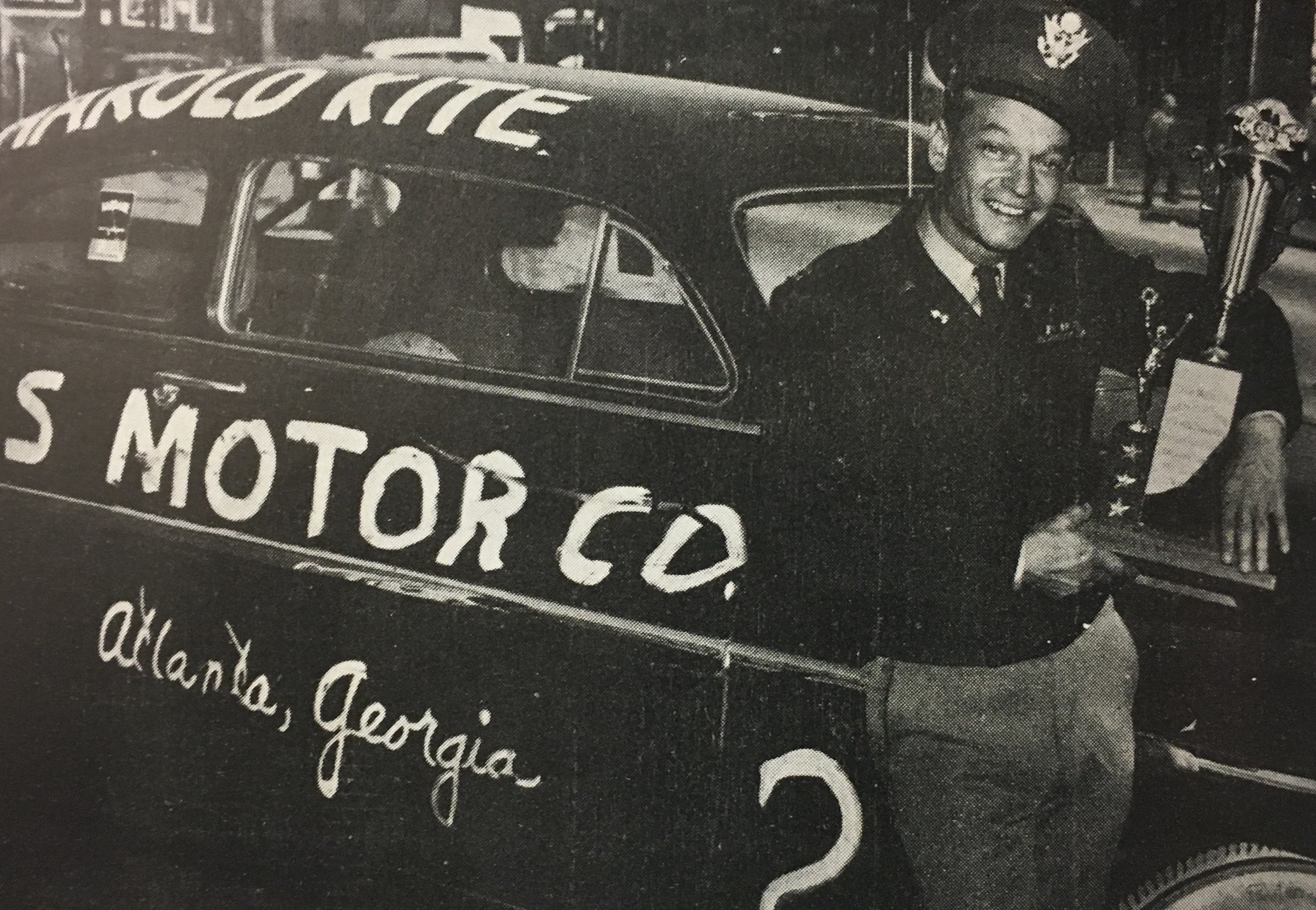 Georgia National Guard Soldier Won Daytona In 1950 Article The United States Army