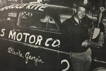 Georgia National Guard Soldier won Daytona in 1950