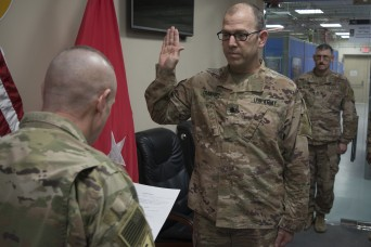 Ohio native helps protect the force in the Middle East