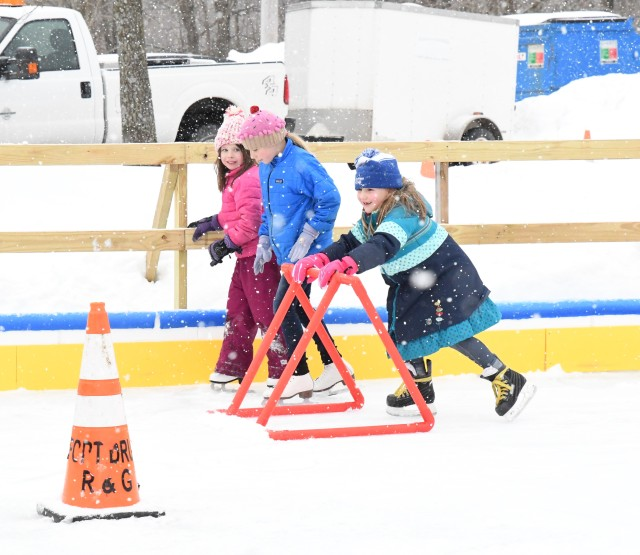 Fort Drum community members have a blast at FMWR winter party