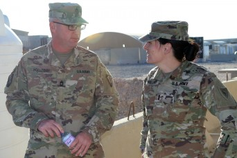 Holloways continue military, family tradition while deployed to Middle East
