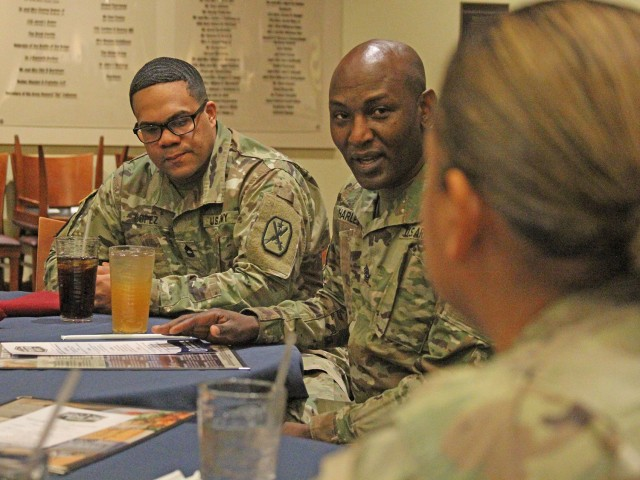 Mentoring Soldiers