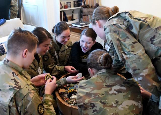 JROTC Cadet Raiders Team Visits CAC CG