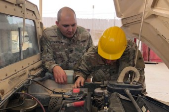 Fort Knox Soldier Reforms Maintenance Standards in Qatar