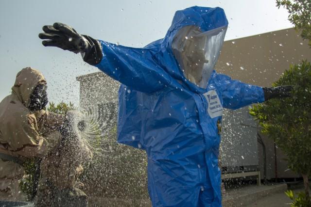 NCOs lead decontamination operations