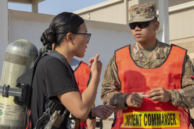 NCOs discuss incident operations