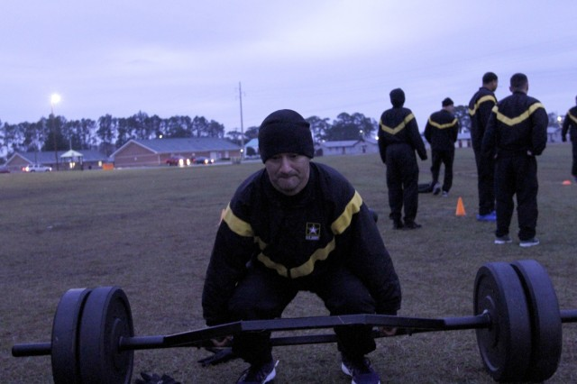 HSC leaders familiarize Soldiers with ACFT