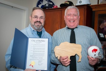 INSCOM's Chief of Staff honored with City of Buffalo proclamation
