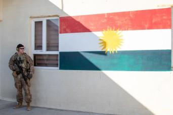 3rd SFAB and Kurdish Peshmerga work side by side to defeat threats