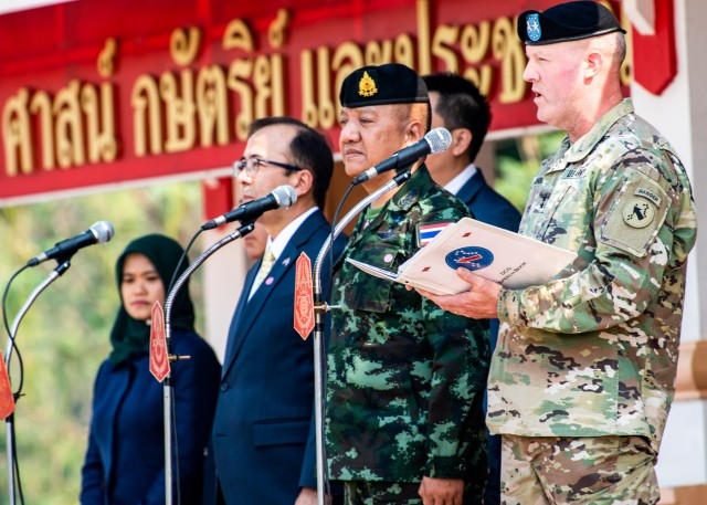 Cobra Gold 20: Opening Ceremony Phitsanulok Thailand