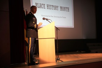 Hohenfels Community honors the past and secure the future during African American History Month