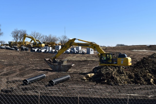 Construction of 96 new homes, Warner Peterson community on Fort Riley