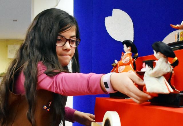 Camp Zama Library displays dolls for Japan's Girls' Day celebration