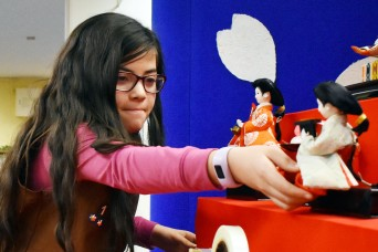 Camp Zama Library displays dolls for Japan's Girls' Day celebration